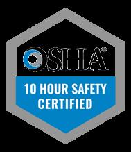 OSHA 10hr Logo